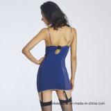 Корсет прозрачного платья Overbust женщин более Bustier с поясом подвязки