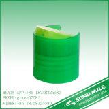 tampão plástico colorido da parte superior do disco de 24mm PP para o frasco do champô
