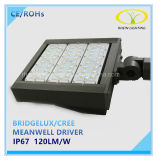 luz do lote de estacionamento do diodo emissor de luz de 150W Bridgelux com excitador de Meanwell