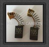 Escova de motor de grafite de cobre para broca de carbono HK1800harmmer / Máquina de lavar mini casa Escova de carbono / escova de carbono pequena Spark CB-105