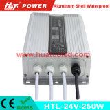 PWM 기능 (HTL Serires)를 가진 24V250W 알루미늄 방수 LED 운전사