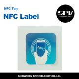 ISO 14443A de Ntag 213 do papel revestido do Hf da etiqueta de Nfc