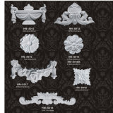 Het Ornament van de Toebehoren van Onlays Appliques Pu van het Decor van de Muur van het huis hn-S018
