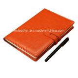 Cuaderno chino de encargo del diario de cuero del cuaderno