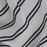 Ткань способа классицистического Striped полиэфира печатание шифоновая