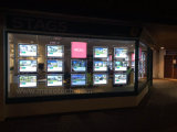 Bolsillos ligeros BRITÁNICOS de la visualización LED de la ventana de la Caliente-Venta
