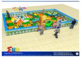 Campo de jogos interno da criança feliz