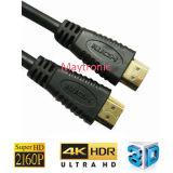 Große Geschwindigkeit mit Kabel des Ethernet-4k 60p HDMI