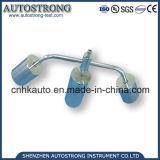 Probador caliente de la deformación del material de aislante sólido/aparato electrónico de la presión de la bola