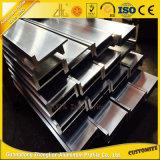 Aluminio profesional de la ranura del fabricante T con 6063 perfiles de aluminio de la protuberancia