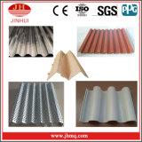 Comitati di alluminio ondulati rossi del tetto per il rivestimento della parete