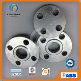 Bride borgne galvanisée par A105 d'acier du carbone d'ASME B16.5 (KT0606)