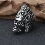 Ювелирные изделия кольца индийских вождей нержавеющей стали способа Titanium
