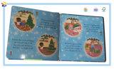 Livre de papier de panneau d'illustration d'impression d'enfant avec le jouet et le cadre