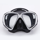 Anti-Mistによって強くされるガラスダイビングマスク