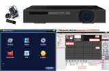 4 canali Standalone Ahd H 264 CCTV Software DVR