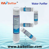Cartucho del purificador del agua del CTO con el cartucho de filtro de agua del paño mortuorio