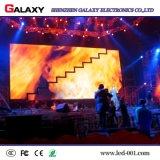 Parete dell'interno piena del video dello schermo di visualizzazione del LED dell'affitto di RGB P2.976 P3.91 P4.81 di colore