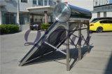 SUS304 Verwarmer van het Water van het roestvrij staal de Zonne (binnentank SUS304, buitentank en steun)