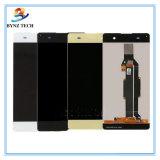 Мобильный телефон LCD для агрегата цифрователя индикации экрана касания Сони Xa