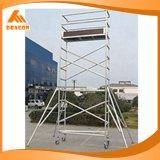 Échafaudage utilisé par aluminium, système d'échafaudage, échafaudage à vendre