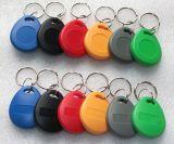 Control de acceso elegante Keyfob (SD8) de Keyfob 125kHz RFID de la puerta del ABS de Customed Keytag