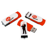 Best Seller girevole USB Flash Drive Personalizzato Logo USB penna di memoria Flash