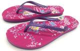 Trendy DOT Stampa Uomini tela di canapa casuali scarpe pantofola sandalo