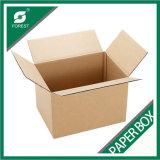 Brown runzelte Karton-Verpackungs-Kasten für Verschiffen