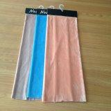 Равнина покрасила связанную триком ткань бархата с затыловкой T/C для софы, занавеса, драпирования