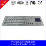 La plupart de clavier économique en métal d'acier inoxydable avec le touchpad