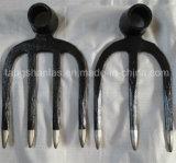 Types de houe de fourche de houe de fourche d'acier du carbone