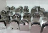 Bride en verre en verre de système à rails pour la balustrade et la balustrade inoxidables