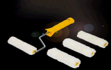 Nachfüllungs-Pinsel-Minirolle stellte für Lack ein