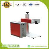 Machine de borne de laser de fibre pour des médailles de plaque signalétique en métal gravant