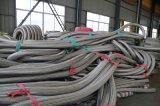 ステンレス鋼の網の適用範囲が広いホース