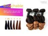 Brasilianisches Jungfrau-Haarbrown-Farben-Sprung-Wellen-Menschenhaar-Glücks-Haar