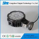 luz de inundación al aire libre del poder más elevado LED del uso 51W para el carro