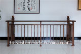 Balustrade en acier galvanisée décorative de haute qualité 22 de balcon d'alliage de Haohan Alluminum