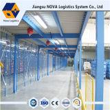 Assoalho e plataforma de aço resistentes de mezanino