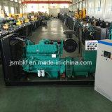 300kw/375kVA発電機はCumminsのディーゼル機関によってセットした