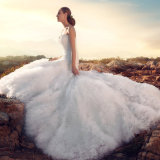 A - Zeile Schatz-KristallBund-Wolle-Fußleiste, die Brautkleid-Kleid Wedding ist