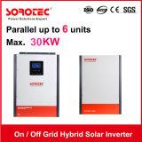 太陽エネルギーのためのオン/オフ格子ハイブリッド5kVA 24Vインバーター