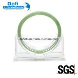 Crémaillère d'étalage acrylique de bracelet de jade