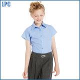 Uniforme scolaire d'été de chemise de chemise de circuit de mode