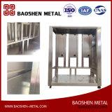El metal de hoja que procesaba la fabricación del marco de acero inoxidable 316L Calidad-Orientó modificado para requisitos particulares