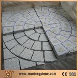 Pietra per lastricati rotonda grigia, pietra per lastricati rotonda, pietra per lastricati decorativa