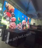 Écran de publicité visuel polychrome de l'intense luminosité DEL de P8 extérieur (P10, P6, P5)