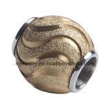 Distanzstück-Raupe des Sterlingsilber-925 für Halsketten-Armband