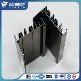 Profilo di alluminio T di figura standard dell'en con la superficie del rivestimento della polvere